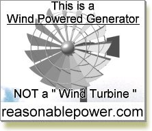 wind powered generator